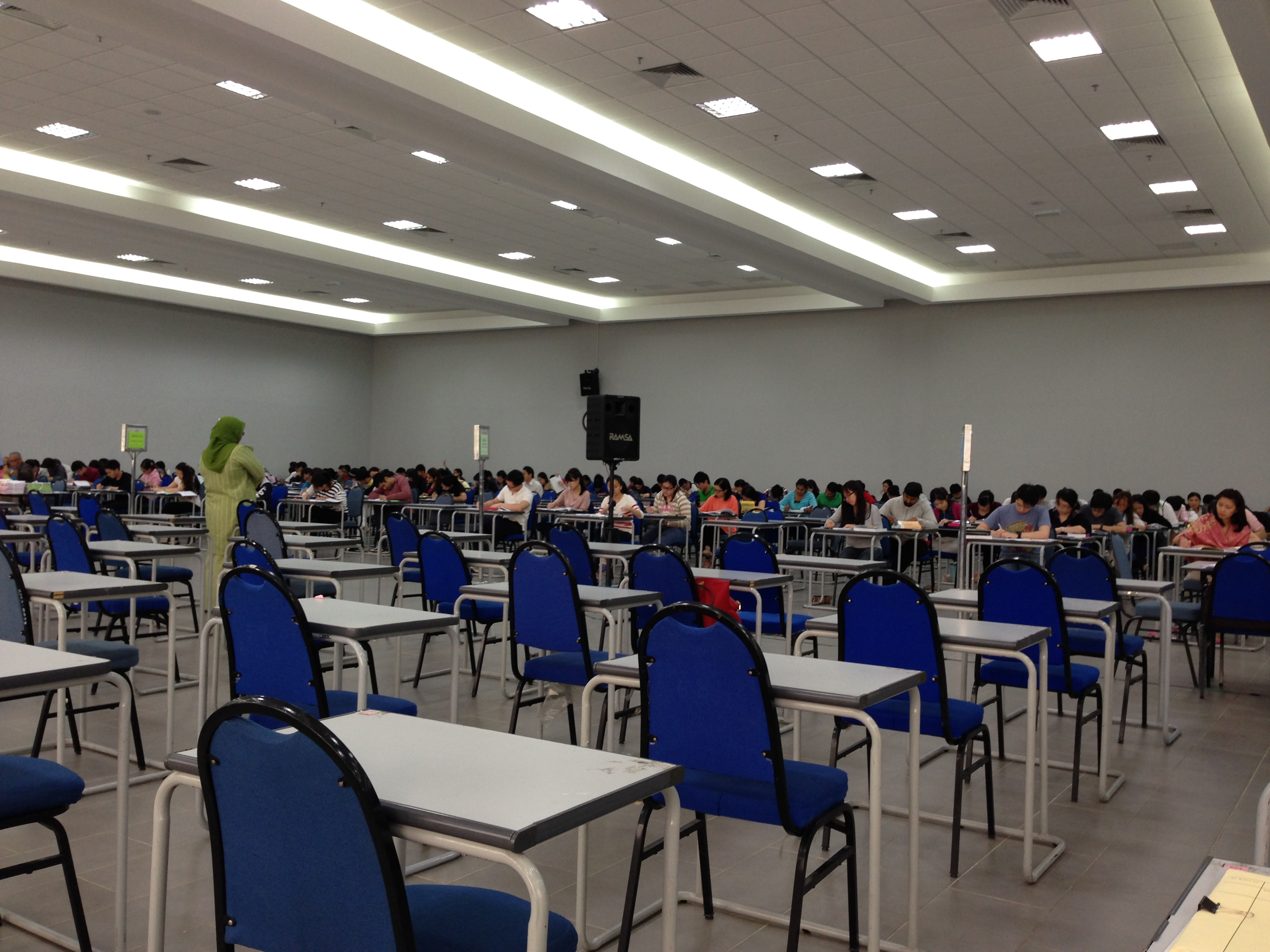 CLP Supplementary Examination (5 October 2013) at Hall 4, Examination Building, University of Malaya, Kuala Lumpur