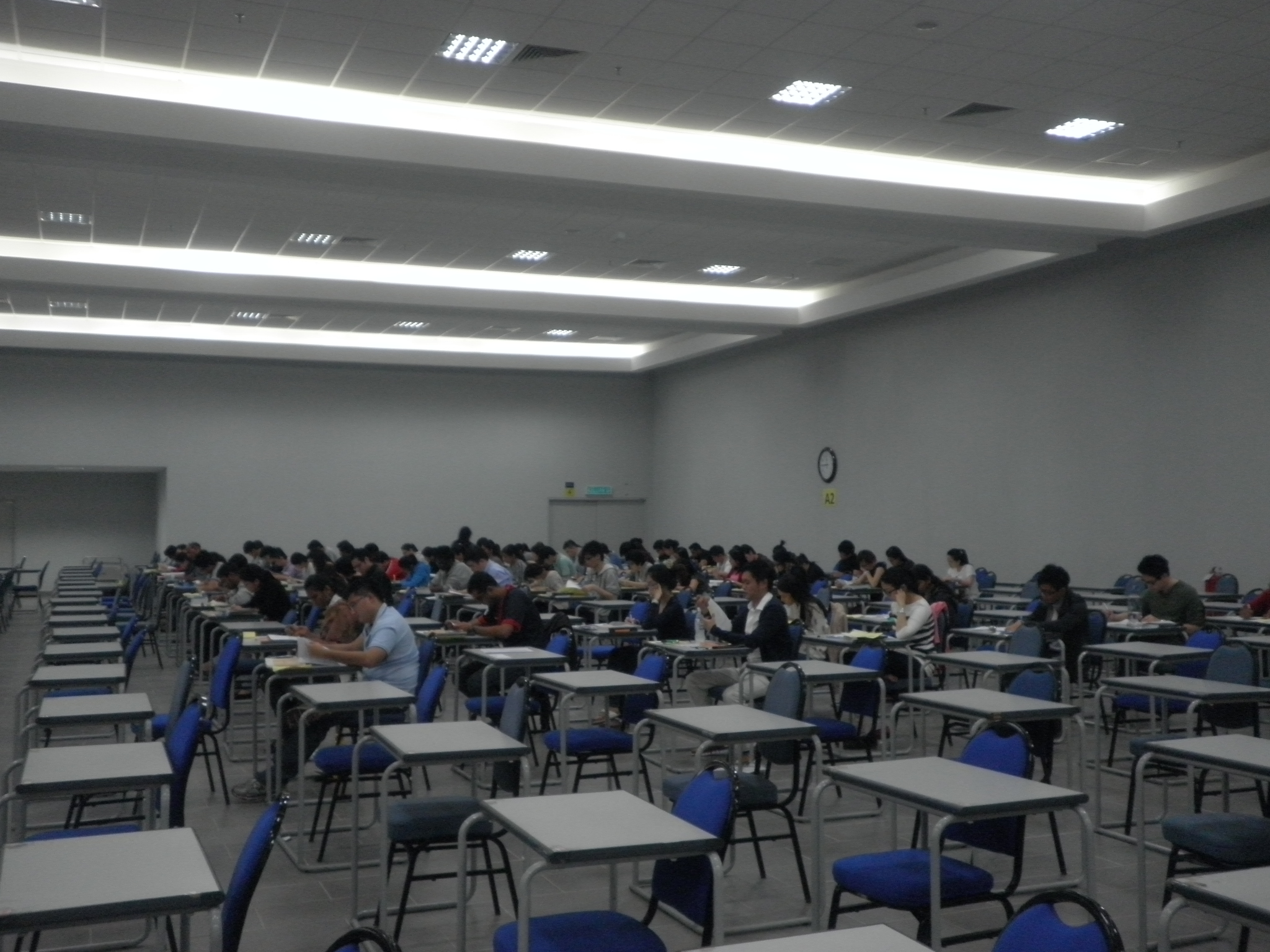 CLP Examination (9 - 18 July 2012) at Hall 1, Examination Building, University Malaya, Kuala Lumpur