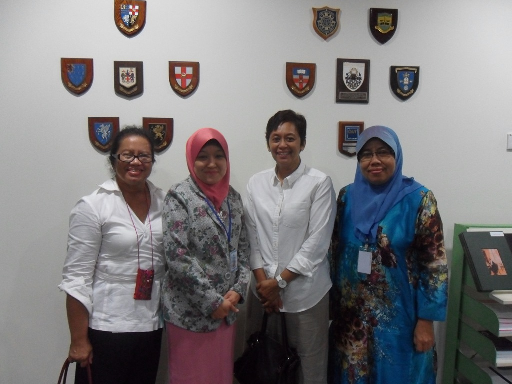 Lawatan dari University of the West of England, Bristol
